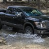 The 2016 Nissan Titan XD is a heavy duty pickup truck with a starting MSRP of $40,290