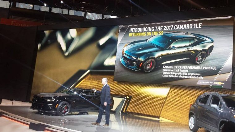 According to rumors, the four-cylinder Camaro could become available with the 1LE Performance Package