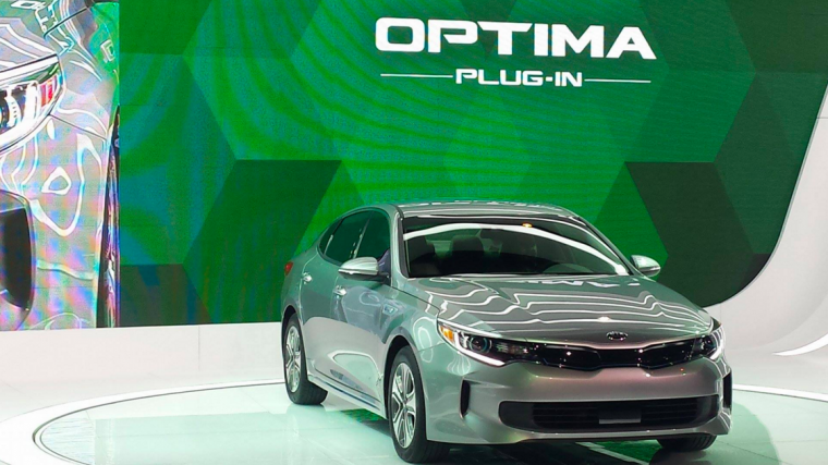 2017 Kia Optima Plug-In Hybrid Debut