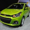Intermittent wipers are a standard feature of the 2016 Chevy Spark