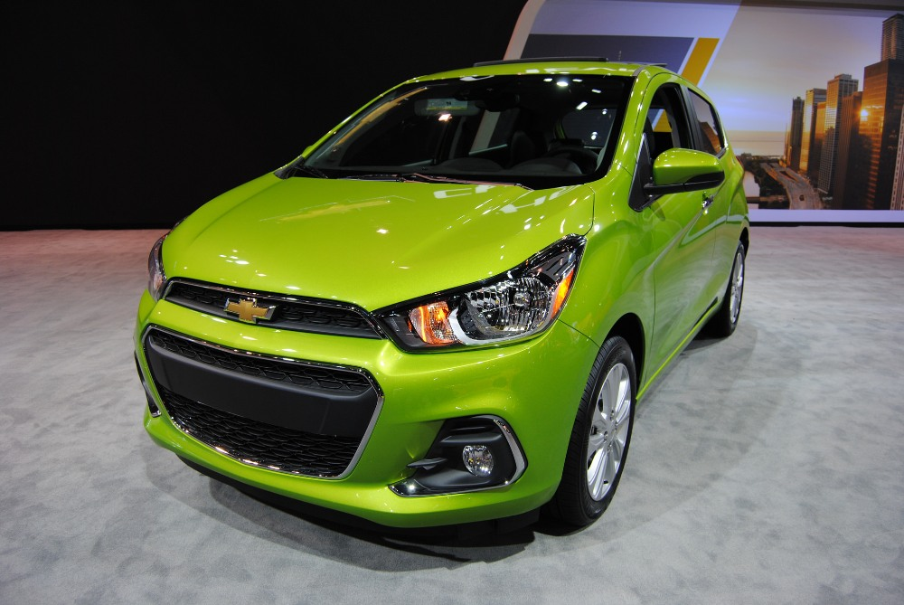 2017 Chevrolet Spark Overview - The News Wheel