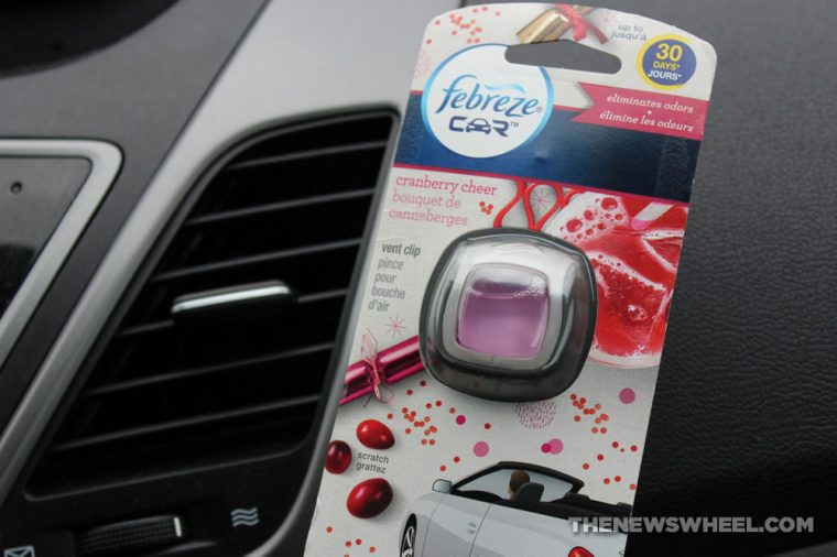 Febreze Car Vent Clip Air Freshener Review experience