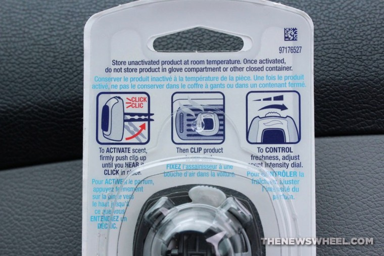Febreze Car Vent Clip Air Freshener Review instructions