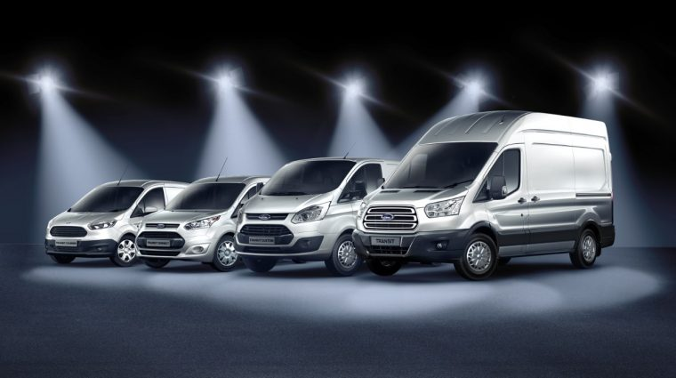 Ford Transit lineup