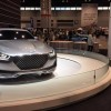 Genesis Vision G Concept car at Chicago Auto Show display