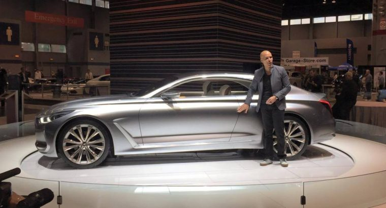 Genesis Vision G Concept car at Chicago Auto Show presentation