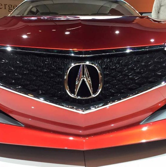Grille From Acura Precision Concept Will Be Featured On