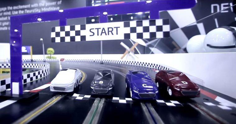 Hyundai mind controlled race cars