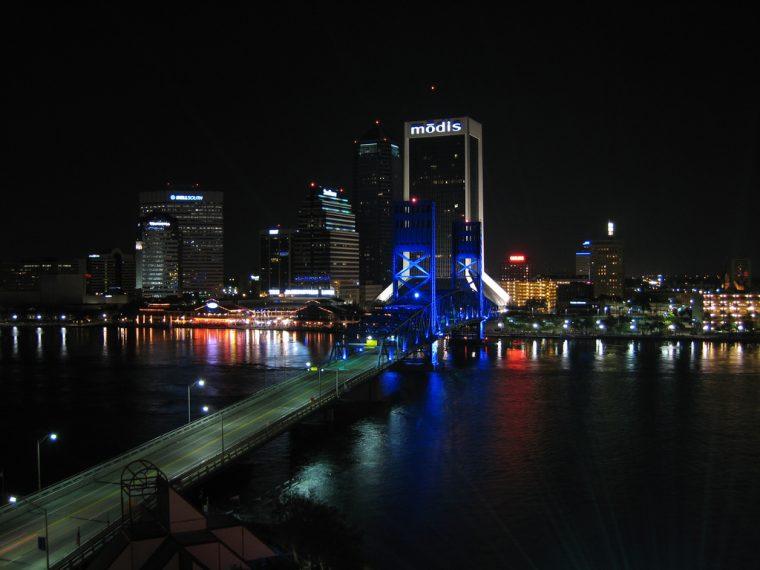 Jacksonville Florida Nighttime