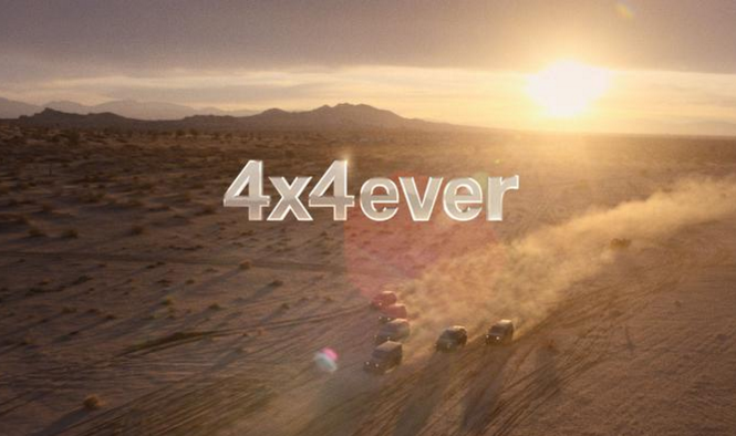 Jeep 4x4ever Commercial