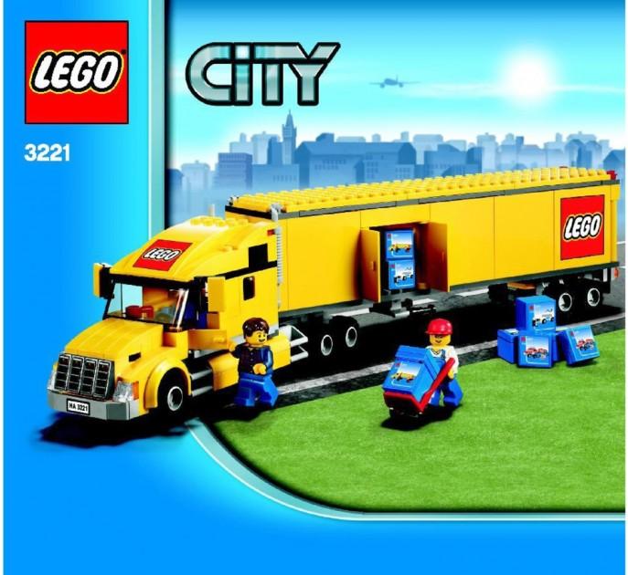 LEGO City Truck set 3221