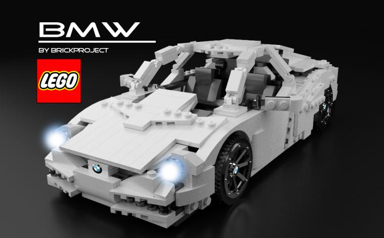 Lego Ideas BMW - BrickProject