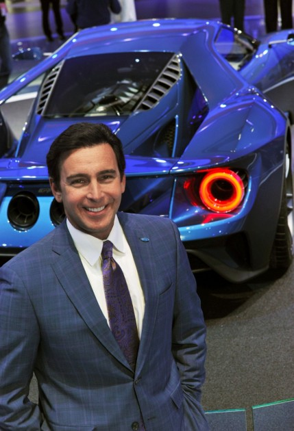 Ford CEO Mark Fields Ford GT
