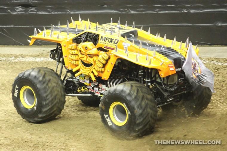 Monster Jam Show Dayton Max-D truck