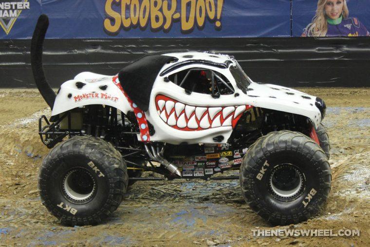 Monster Jam Show Dayton Monster Mutt dalmation dog truck