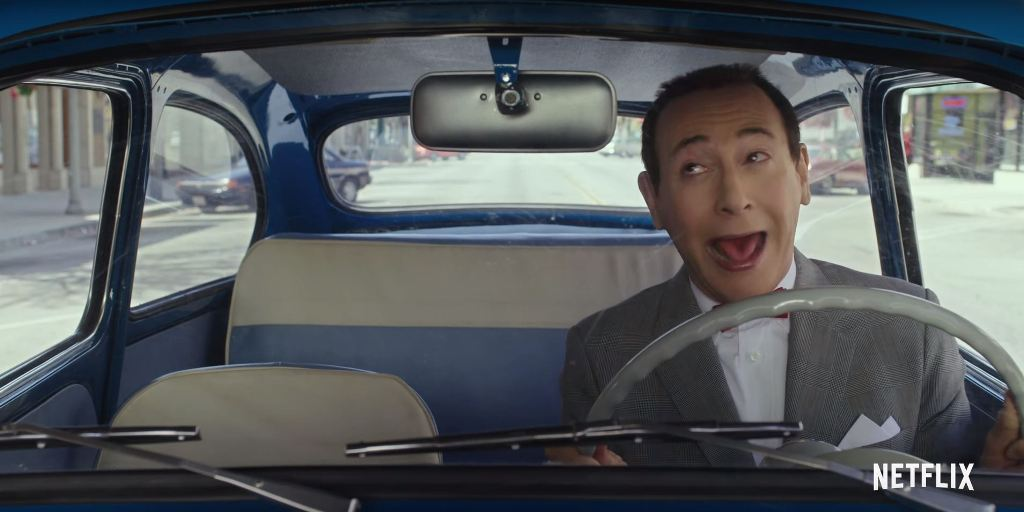 Pee Wee Herman Drives A Fiat 600 In Upcoming Big Holiday