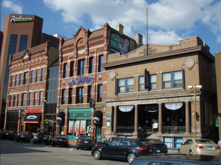 St Cloud Minnesota 5th Avenue Downtown