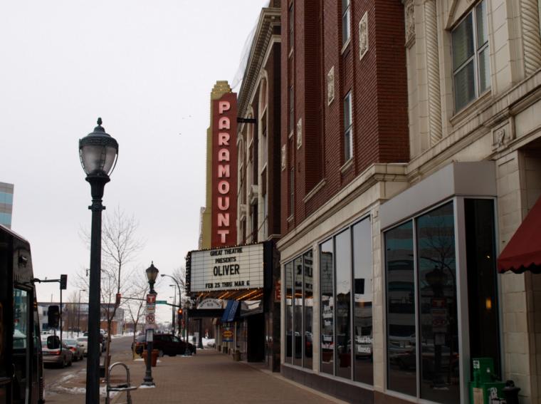 St Cloud Minnesota Paramount Art District
