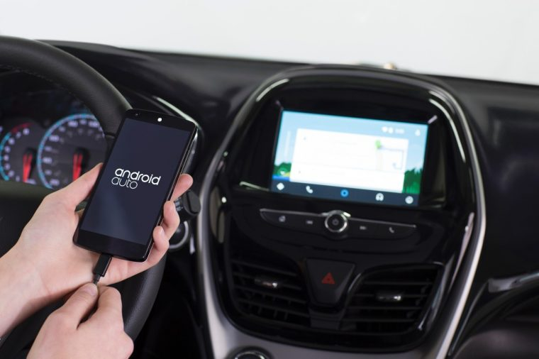 Android auto is a standard feature of the 2016 Chevy Spark