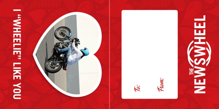 Valentines Day Card from The News Wheel motorcycle 1200x600