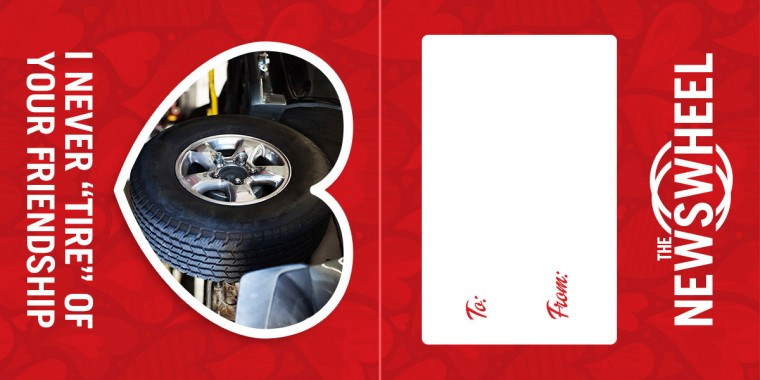 Valentines Day Card from The News Wheel tire  1200x600