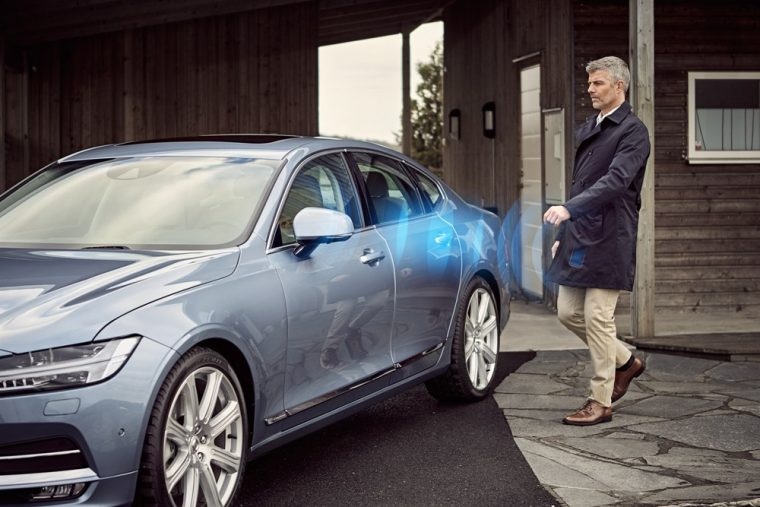 A limited number of 2017 Volvo vehicles will be available with a digital key smartphone app that would replace physical keys