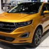 The 2016 Ford Edge is a mid-size crossover that carries a starting MSRP of $28,700
