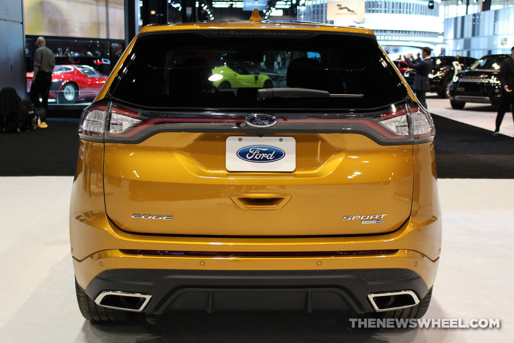 Ford Suv Models >> 2016 Ford Edge Overview - The News Wheel