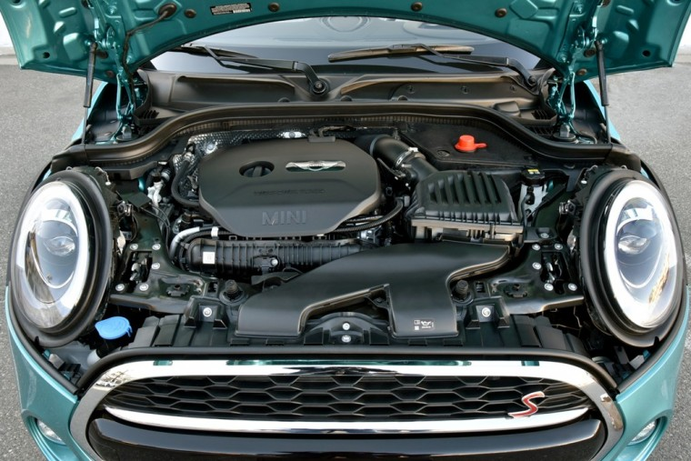 Under the hood of the 2016 MINI Convertible