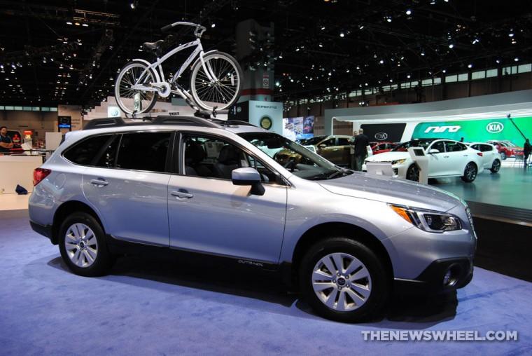 2016 Subaru Outback sales June