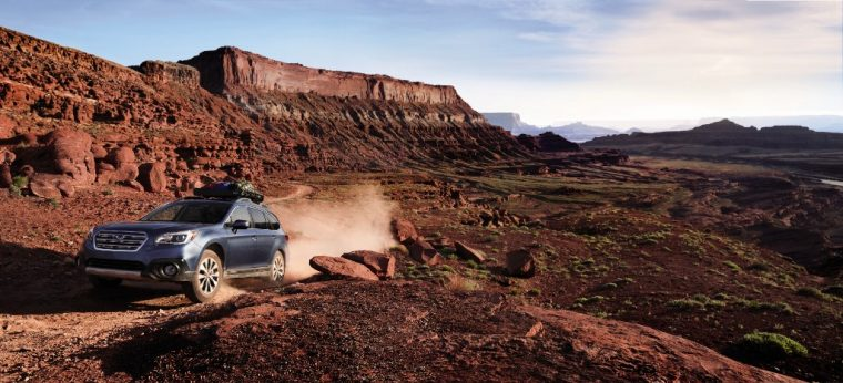 The 2016 Subaru Outback, equipped with Subaru's Symmetrical All-Wheel Drive