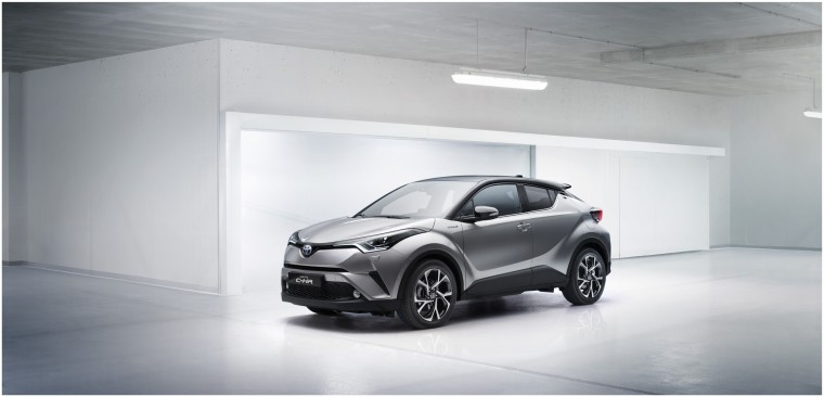 2018 Toyota C-HR production model - coming spring 2017