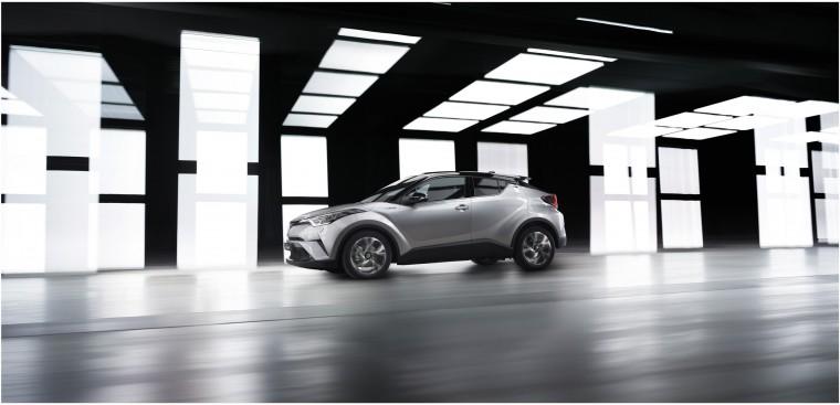 2016 Toyota C-HR production model geneva motor show