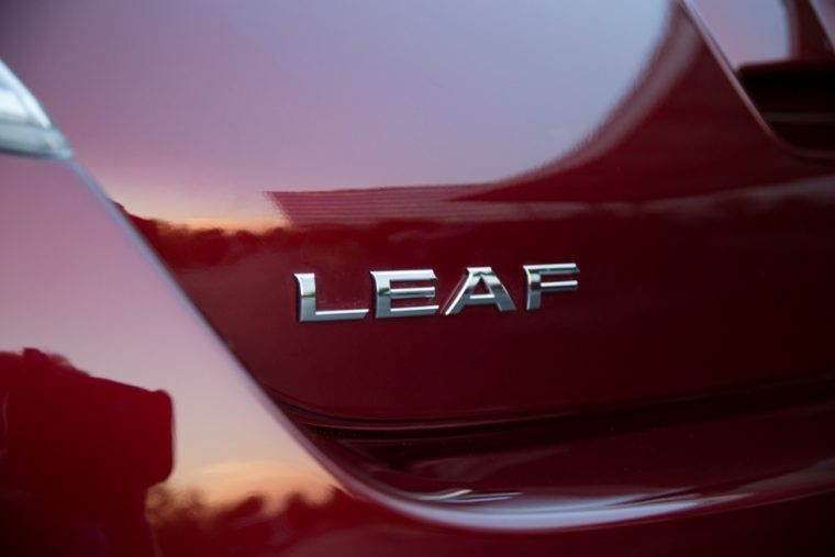 2016 Nissan LEAF Badge