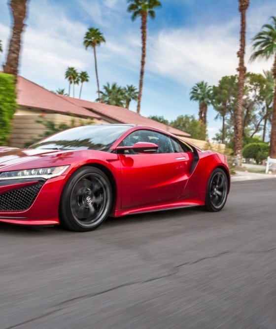 Acura Nsx: 2017 Acura NSX Overview