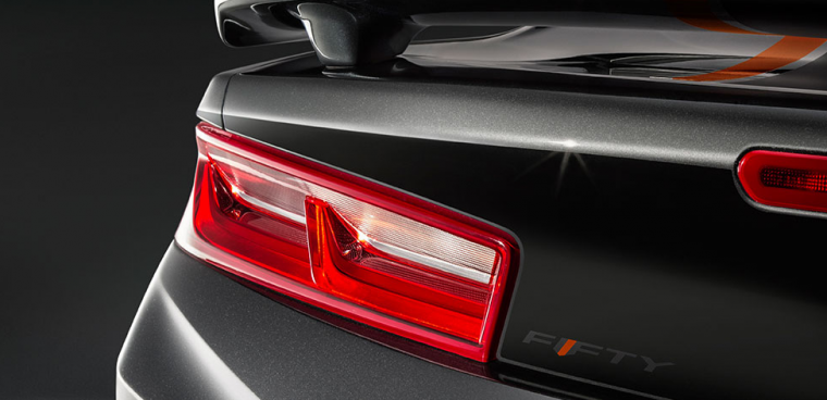 2017 Chevrolet Camaro 50th Edition rear