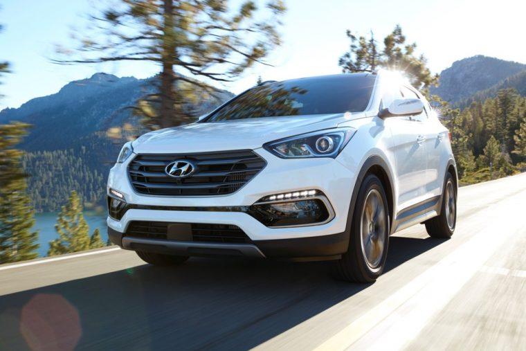 2017 Hyundai Santa Fe Sport awards
