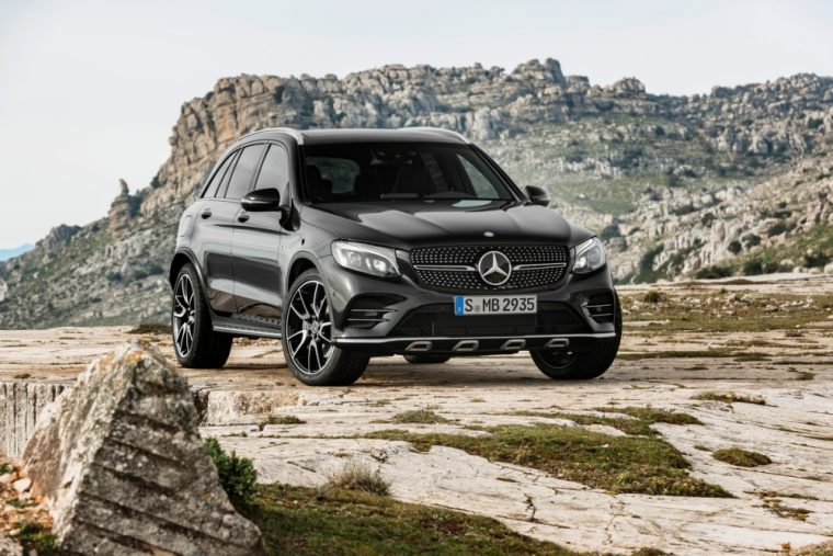 Mercedes will be displaying the performance version of the GLC crossover at the upcoming New York International Auto Show
