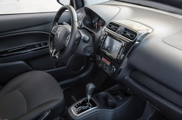 2017 Mitsubishi Mirage G4 Dashboard Design
