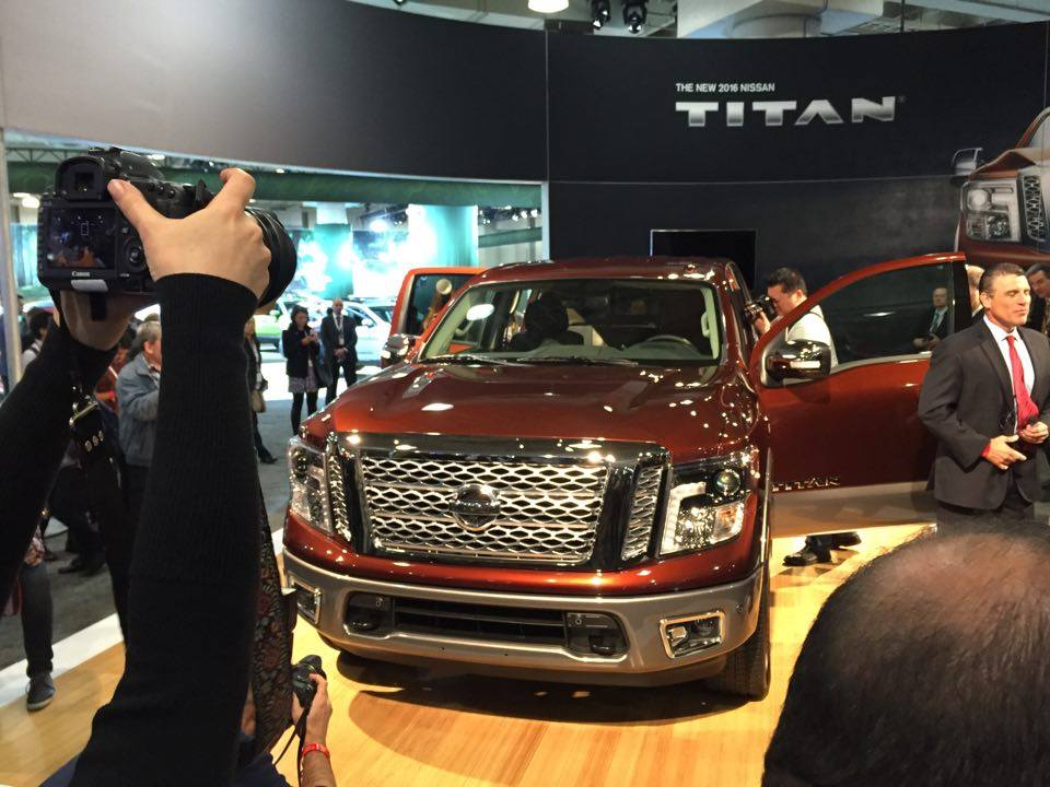 Nissan Properly Reveals 2017 Nissan Titan - The News Wheel