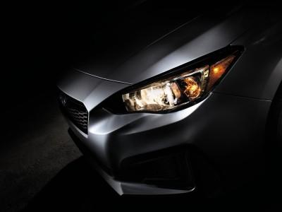 2017 Subaru Impreza teaser photo with DYNAMIC X SOLID