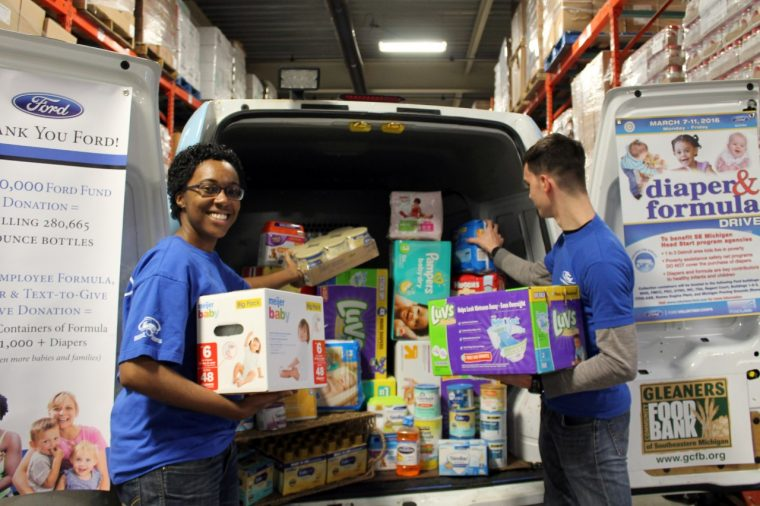 Gleaners Food Bank Diaper and Formula Drive