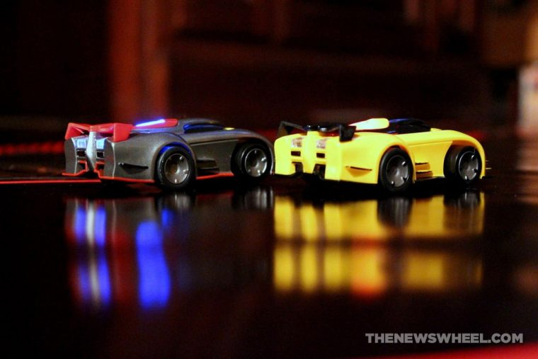Anki DRIVE remote controlled robotic racing cars review lights