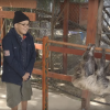 Lucy Hale and Eduardo visit the Wildlife Learning Center in Los Angeles