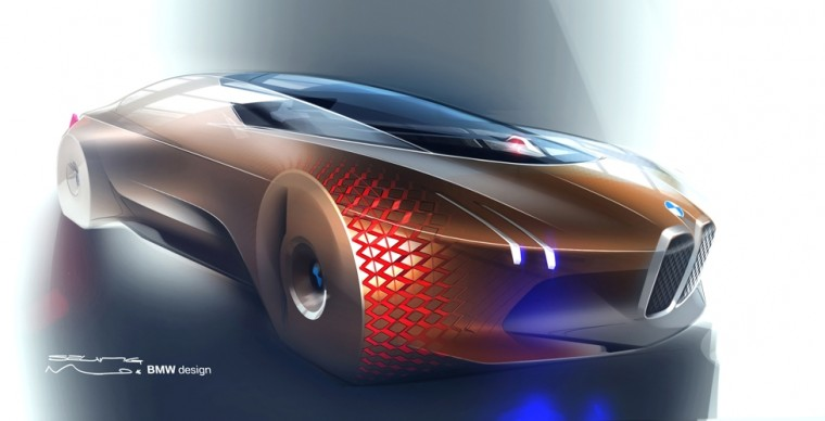 The BMW Vision Vehicle