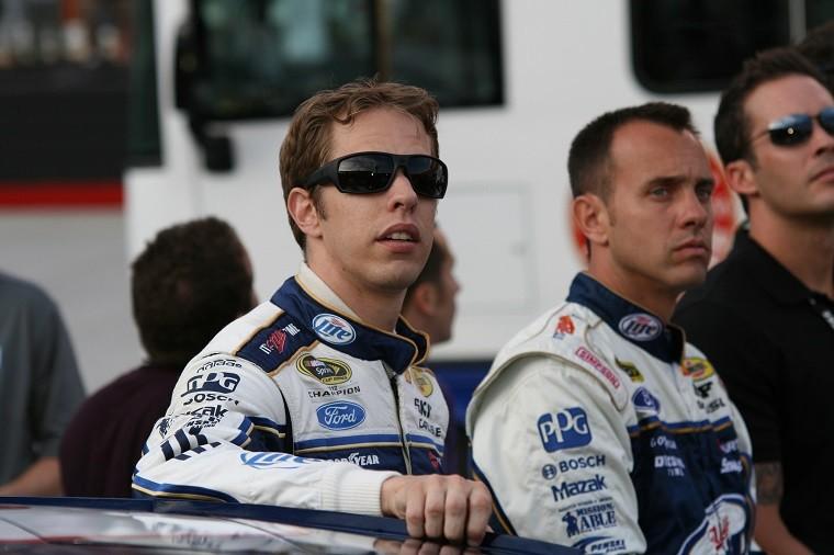 Driver Brad Keselowski overcame adversity to win Sunday's NASCAR race in Las Vegas