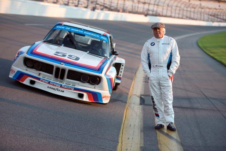 BMW Race car driver Brian Redman