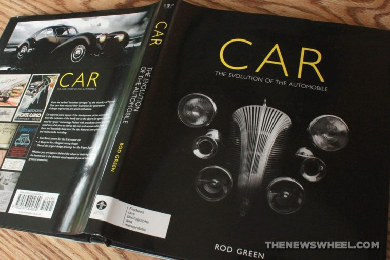Car Evolution of the Automobile by Rod Green book review cover