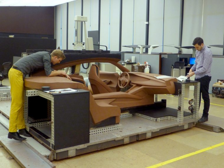 Buick's new video shows the Avista Concept transforming from a pure idea into a clay model
