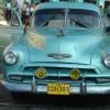 Cuban Classic Car Blue